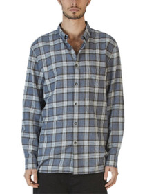 Cabin Plaid Long Sleeve Button Down