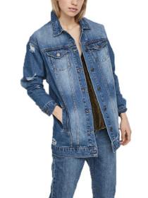 Angie Long Sleeve Denim Jacket