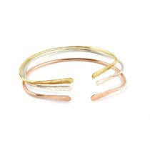 Alice Hammered 14K Cuff