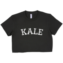 Kale Vintage Graphic Cropped Tee