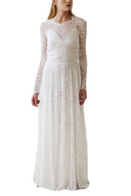 Forever Lace Overlay 2 in 1 Maxi Dress