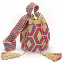 Uleisa Medium Wayuu Crossbody Bag