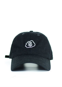 Jet Cloud Baseball Cap in Black