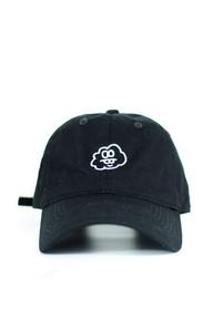 Jet Cloud Baseball Cap in Black