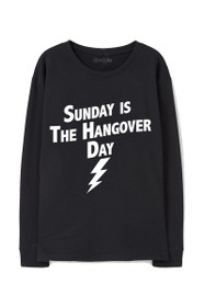 Hangover Day Graphic Crewneck Sweatshirt