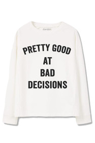 Bad Decisions Graphic Crewneck Sweatshirt