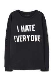 Hate Everyone Graphic Sweatshirt