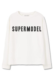 Supermodel Graphic Sweatshirt