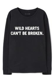Wild Hearts Graphic Crewneck Sweatshirt
