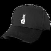 Pineapple Baseball Cap in Black