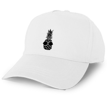 Pineapple Baseball Cap in White
