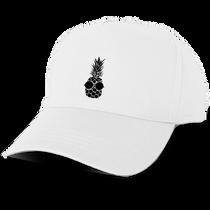 Pineapple Baseball Cap in White