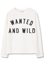 Wild And Wanted Graphic Crewneck Sweatshirt