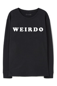 Weirdo Graphic Crewneck Sweatshirt