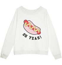 Hotdog Oversized Sweatshirt