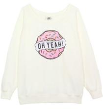 Donut Oversized Sweatshirt