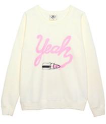 Lipstick Oversized Sweatshirt