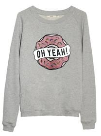 Donut Raglan Sweatshirt