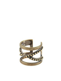 Power Wrap Ring in Brass