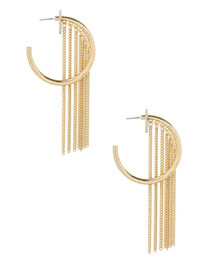 Into the Night Earrings in Gold