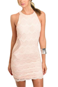 Tessa Lace Mini Dress