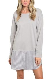 Lauren Fooler Tunic Shirt Dress