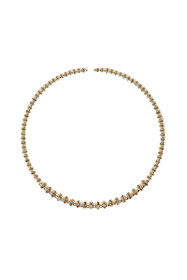 Izoa Goddess collar necklace in gold