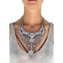 Boho Glam Statement Necklace