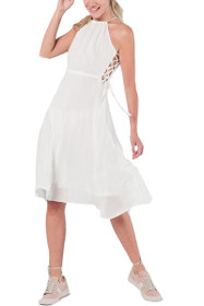Hailee Side Lace Up Dress
