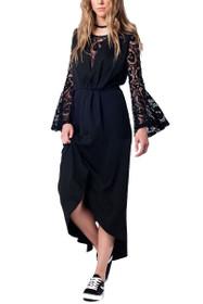 Lusha Hi-Lo Lace Dress
