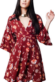 Eden Bell Sleeve Dress
