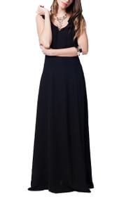 Gracie Cross Back Maxi Dress