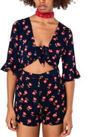 Jilly Cut Out Romper
