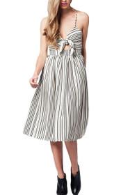 Sylvie Stripe Midi Dress