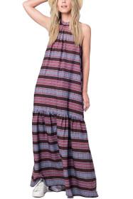 Melie Stripe Maxi Dress