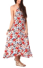 Lily Floral Maxi Dress