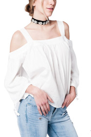 Lena Cold Shoulder Top