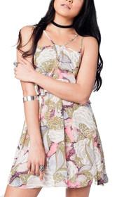 Mindy Floral Halter Dress