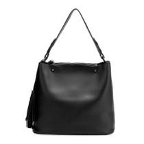Niccola Vegan Tote Bag in Black
