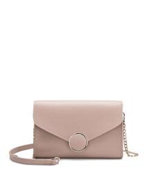 Elsa Vegan Mini Crossbody Bag in Blush