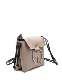 Dillen Crossbody Vegan Cirlce Bag in Nude