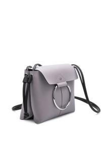 Dillen Crossbody Vegan Circle Bag in Lavender