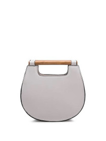 Irene Vegan Clutch/Crossbody Bag in Bone