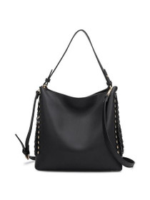Jamie Vegan Tote Bag in Black