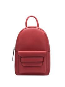 Kacie Vegan Backpack Bag in Red