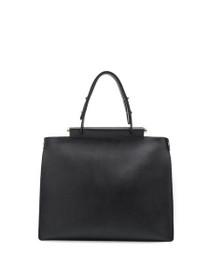 Isabella Vegan Tote Bag in Black