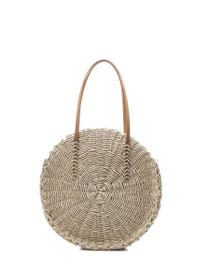 Ciara Vegan Handmade Bag in Natural Straw