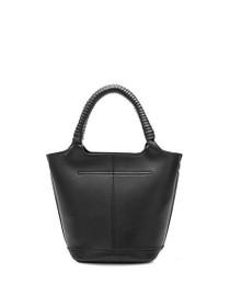 Colette Vegan Tote Bag in Black