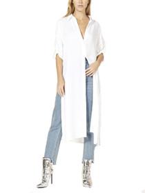 Long Sleeve Button Down Shirt Robe