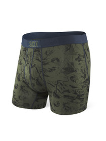 Vibe Boxer Modern Fit in Green Fisherman